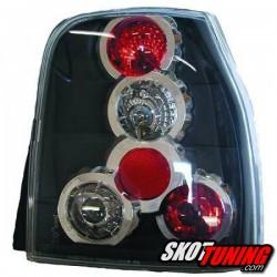 LAMPY TYLNE VW LUPO / SEAT AROSA  97-05 CZARNE