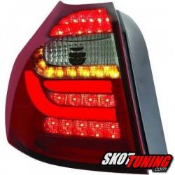 LAMPY TYLNE LED BMW 1 E87 04-03.07 CZERWONE / DYMIONE
