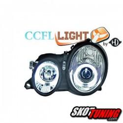 REFLEKTORY CCFL MERCEDES BENZ W208 CLK 06.97-06.02 CHROM