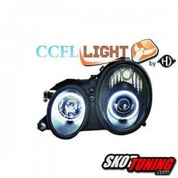 REFLEKTORY CCFL MERCEDES BENZ W208 CLK 06.97-06.02 CZARNE