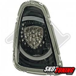 LAMPY TYLNE LED MINI COOPER/S R56 06-10 CZARNE