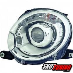 REFLEKTORY FIAT 500 07+ CHROM