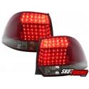 LAMPY TYLNE LED VW GOLF V/VI VARIANT 03.07+ CZERWONE/DYMIONE