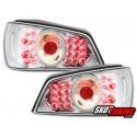 LAMPY TYLNE LED PEUGEOT 306 92-96 PRZEŹROCZYSTE