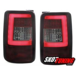 LAMPY TYLNE LED VW CADDY 03-15 CZERWONE / DYMIONE