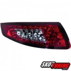 LAMPY TYLNE LED PORSCHE 911 997 04-08 CZERWONE / DYMIONE