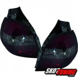 LAMPY TYLNE LED RENAULT CLIO 05-09 CZERWONE / CZARNE