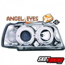 REFLEKTORY RENAULT CLIO I 90-96 RINGI CHROM