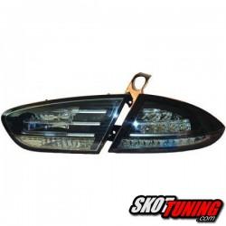 LAMPY TYLNE LED SEAT LEON 1P1 09-12 CZARNE / DYMIONE