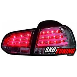 LAMPY TYLNE LED VW GOLF VI CHROM