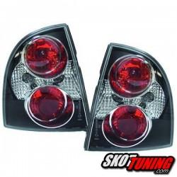 LAMPY TYLNE VW PASSAT 3BG SEDAN 00-05 CZARNE