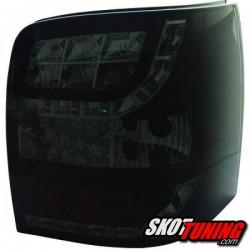 LAMPY TYLNE LED VW PASSAT VARIANT 3BG 00-04 CZARNE  DYMIONE + KIERUNKOWSKAZ LED