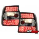 LAMPY TYLNE LED VW PASSAT 3B SEDAN 97-01 CZARNE