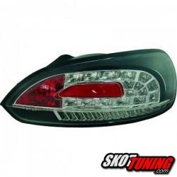 LAMPY TYLNE LED VW SCIROCCO 08-14 CZARNE + KIERUNKOWSKAZ LED