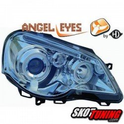 REFLEKTORY VW POLO 9N3 05-09 RINGI CHROME