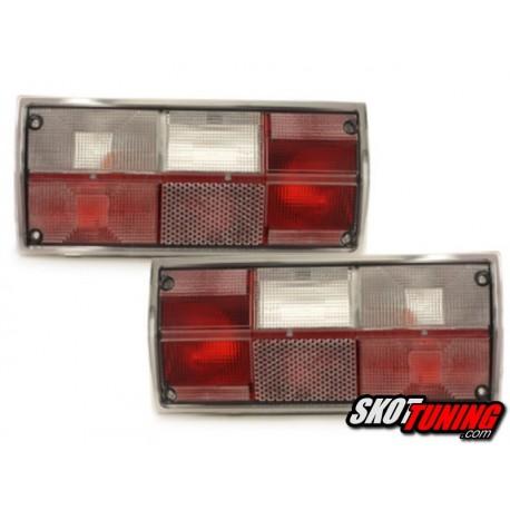 LAMPY TYLNE VW T3 05.79-12.92 PRZEŹROCZYSTE