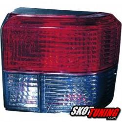 LAMPY TYLNE VW T4 90-03 CZERWONE / DYMIONE
