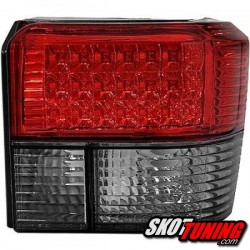 LAMPY TYLNE LED VW T4 90-03 CZERWONE / DYMIONE