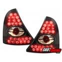 LAMPY TYLNE LED RENAULT CLIO II 98-01 CZARNE