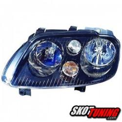 REFLEKTOR LEWY VW TOURAN 1T 03-06 CZARNY