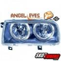 REFLEKTORY VW VENTO 91-98 CZARNE RINGI
