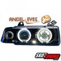 REFLEKTORY LED BMW E36 SEDAN / TOURING 90-99 CZARNE