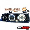 REFLEKTORY LED BMW E36 COUPE / CABRIO 90-99 CZARNE