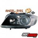 REFLEKTORY BMW 3 E90 CZARNE