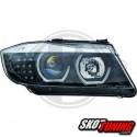 REFLEKTORY BMW 3 E90 SEDAN 09-12 CZARNE
