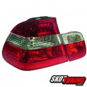 LAMPY TYLNE BMW E46 SEDAN 98-01 CZERWONE / PRZEŹROCZYSTE