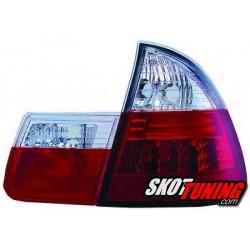 LAMPY TYLNE LED BMW E46 TOURING 98-05 CZERWONE / PRZEŹROCZYSTE