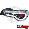 LAMPY TYLNE LED TOYOTA GT86 SUBARU BRZ  12+ CZARNE