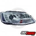 DRL REFLEKTORY VW JETTA  10-13 CHROM