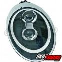 REFLEKTORY PORSCHE 911 997 04-09 CZARNE  XENON
