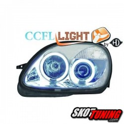 REFLEKTORY RINGI CCFL MERCEDES BENZ R170 SLK 96-04 CHROM