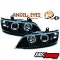 REFLEKTORY Z RINGAMI BMW Z3 96-02 CZARNE