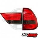 LAMPY TYLNE LED BMW E83 X3 03-06 CZERWONE / DYMIONE