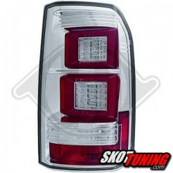 LAMPY TYLNE LED  LAND ROVER DISCOVERY 04-13 CHROM