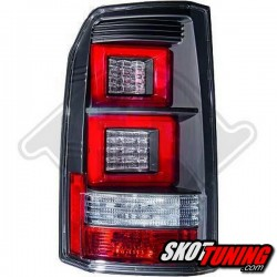LAMPY TYLNE LED  LAND ROVER DISCOVERY 04-13 CZARNE