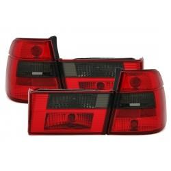 LAMPY TYLNE BMW 5 E34 KOMBI 85-95 CZERWONE / DYMIONE