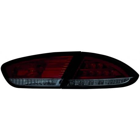LAMPY TYLNE LED SEAT LEON 1P1 09-12 CZERWONE / DYMIONE