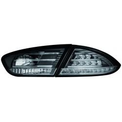 LAMPY TYLNE LED SEAT LEON 1P1 09-12 CZARNE