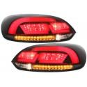 LAMPY TYLNE LED Litec VW SCIROCCO III 08+ CZERWONE / DYMIONE