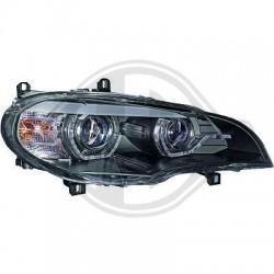REFLEKTORY BMW X5 08-10 E70 CZARNE XENON