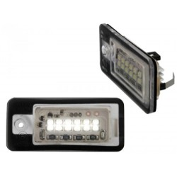 LITEC OŚWIETLENIE REJESTRACJI LED AUDI A3 8P, A4 B6, A4 , A6, A8