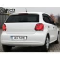 LAMPY TYLNE CARDNA LED VW POLO 6R_09+  CZARNE/DYMIONE