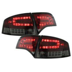LAMPY TYLNE LED AUDI A4 SEDAN B7 04-07 CZERWONE / DYMIONE