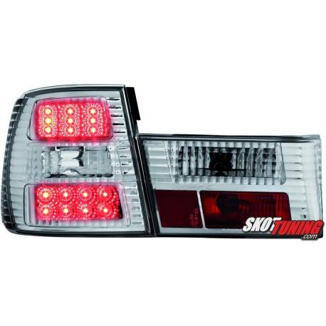 LAMPY TYLNE LED BMW 5 E34 SEDAN 85-95 PRZEŹROCZYSTE
