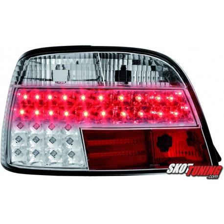LAMPY TYLNE LED BMW 7 E38 95-02 PRZEŹROCZYSTE