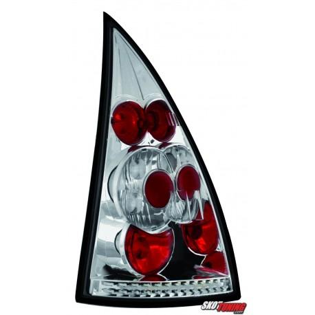 LAMPY TYLNE CITROEN C3 02-05 PRZEŹROCZYSTE